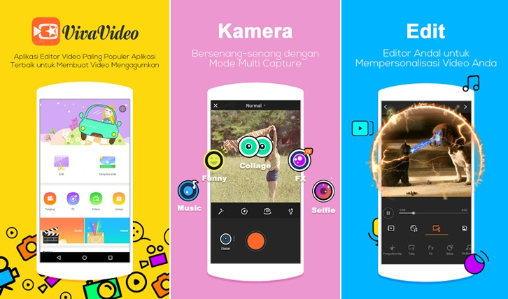 Inilah 6 Aplikasi Editor Video Unik Kekinian Untuk Android