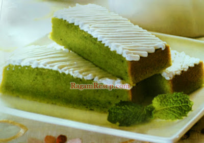 Resep Kue Cake Green Tea Berlapis