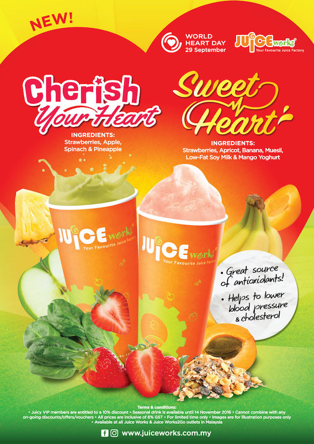 Juice Works Breast Cancer Awareness Campaign - The Fresh Way To Fight Cancer
