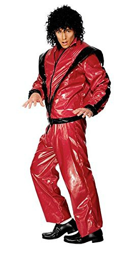 Deluxe Michael Jackson Thriller Costume for Men