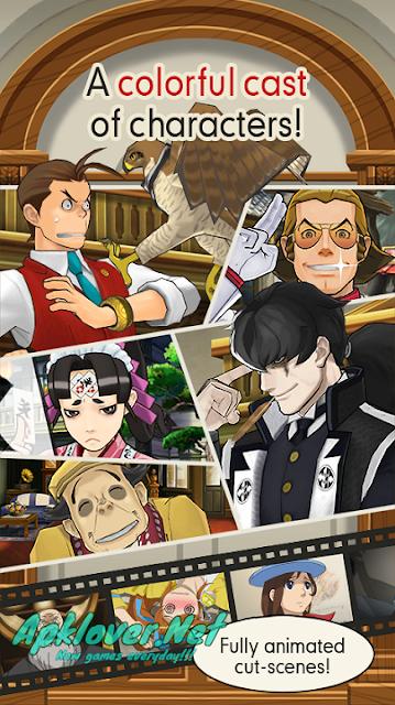 Ace Attorney Dual Destinies APK full