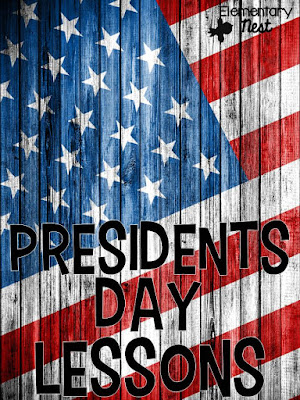 Presidents Day Lessons and Activities- with a link to a literacy center FREEBIE