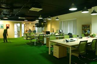 Những màu sắc chủ đạo trong thiết kế văn phòng