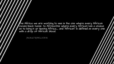 The Africa we should be working together to see