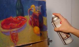 truk tips melukis pensil realistik warna