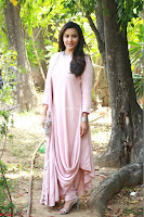 Priya Anand in simply Pink at an interview for movie KOOTATHIL ORUTHAN~  Exclusive celebrities galleries 019.jpg