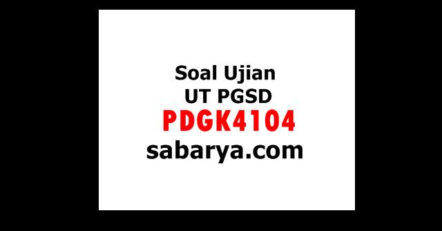 Soal Ujian UT PGSD PDGK4104 Perspektif Pendidikan SD Beserta Kunci Jawaban