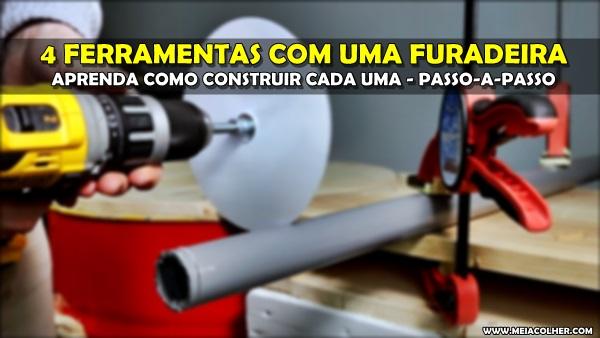 FERRAMENTAS FURADEIRA