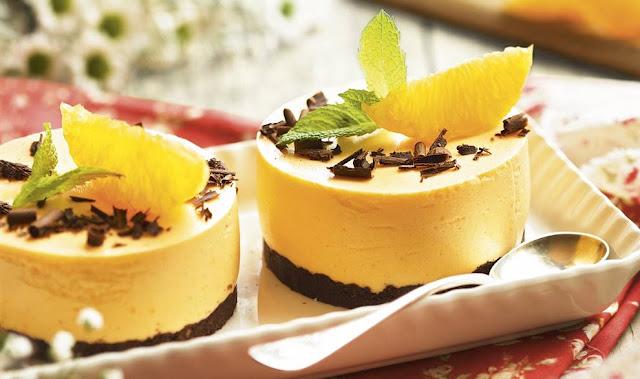 Mousse de Mandarinas y Melon