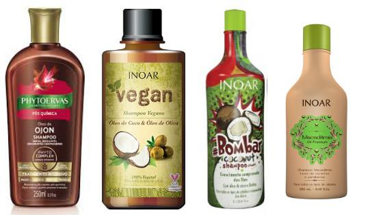 shampoos low poo nutritivos