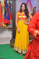 Pujitha in Yellow Ethnic Salawr Suit Stunning Beauty Darshakudu Movie actress Pujitha at a saree store Launch ~ Celebrities Galleries 019.jpg