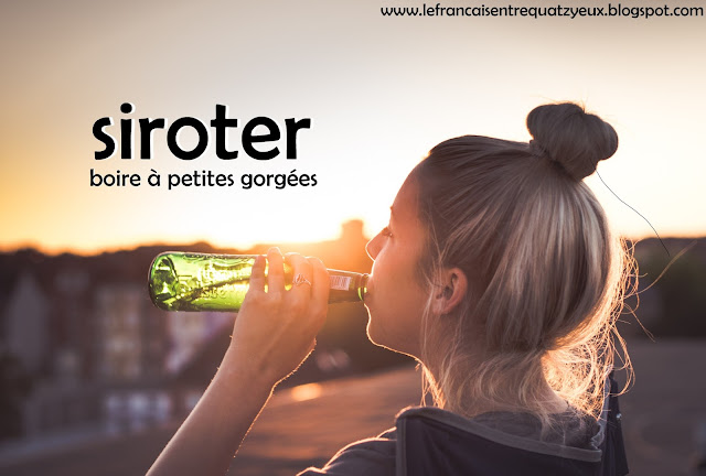 siroter boire