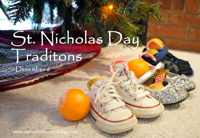 St. Nicholas Day Traditions - www.sweetlittleonesblog.com