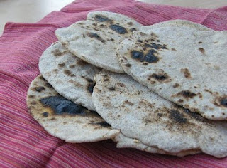 Homemade Chapatis