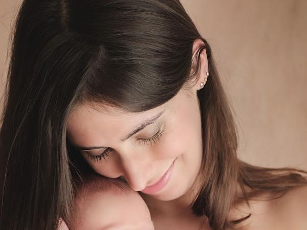Séance photo avec bébé chez un photographe !