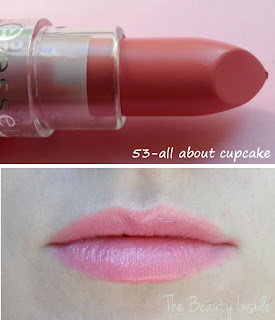 Lipstick essence review swatch