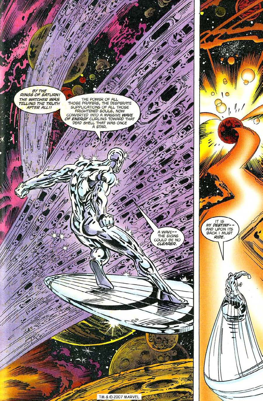 Read online Silver Surfer (1987) comic -  Issue #119 - 29