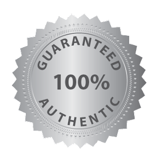 100% GUARANTEED Authentic