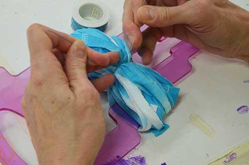 How To Make Tie Dye Cake Balls