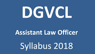DGVCL Assistant Law Officer Exam Syllabus 2018 & Previous Papers