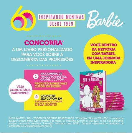 PB Kids - Barbie 60 anos #Pbkids #PbkisBrinquedos #Barbie #Barbie60anos #topdapromoção #sorteio #promoção #brinquedos #bonecas #ModoBrincar #livros #ganharlivros #Barbie60 #MoreRoleModels