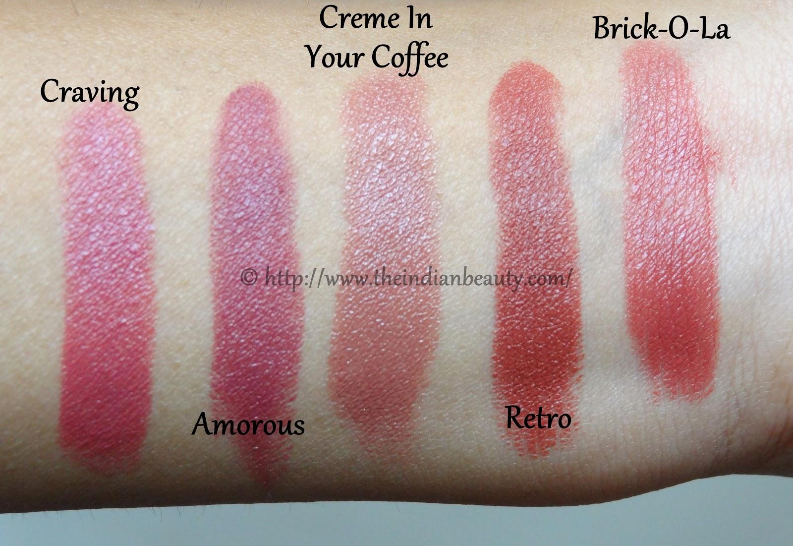 MAC Brick O La Lipstick | Review & Swatches