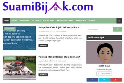 Ganti Template Baru 2017, Ngeblog Jadi Tambah Pede