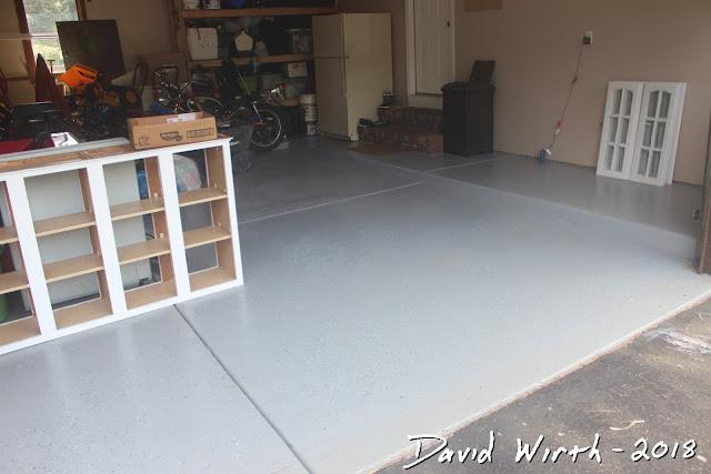paint on epoxy floor