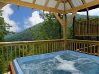 Intimate cabins hot tubs