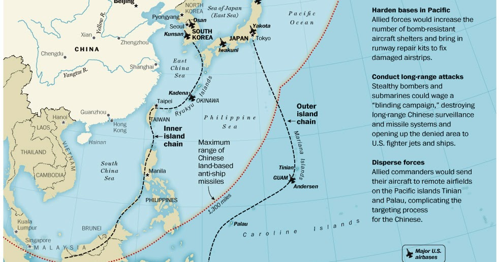 Submarine Matters DFD Carrier Killer And AirSea Battle Targets - Us submarine bases map submar