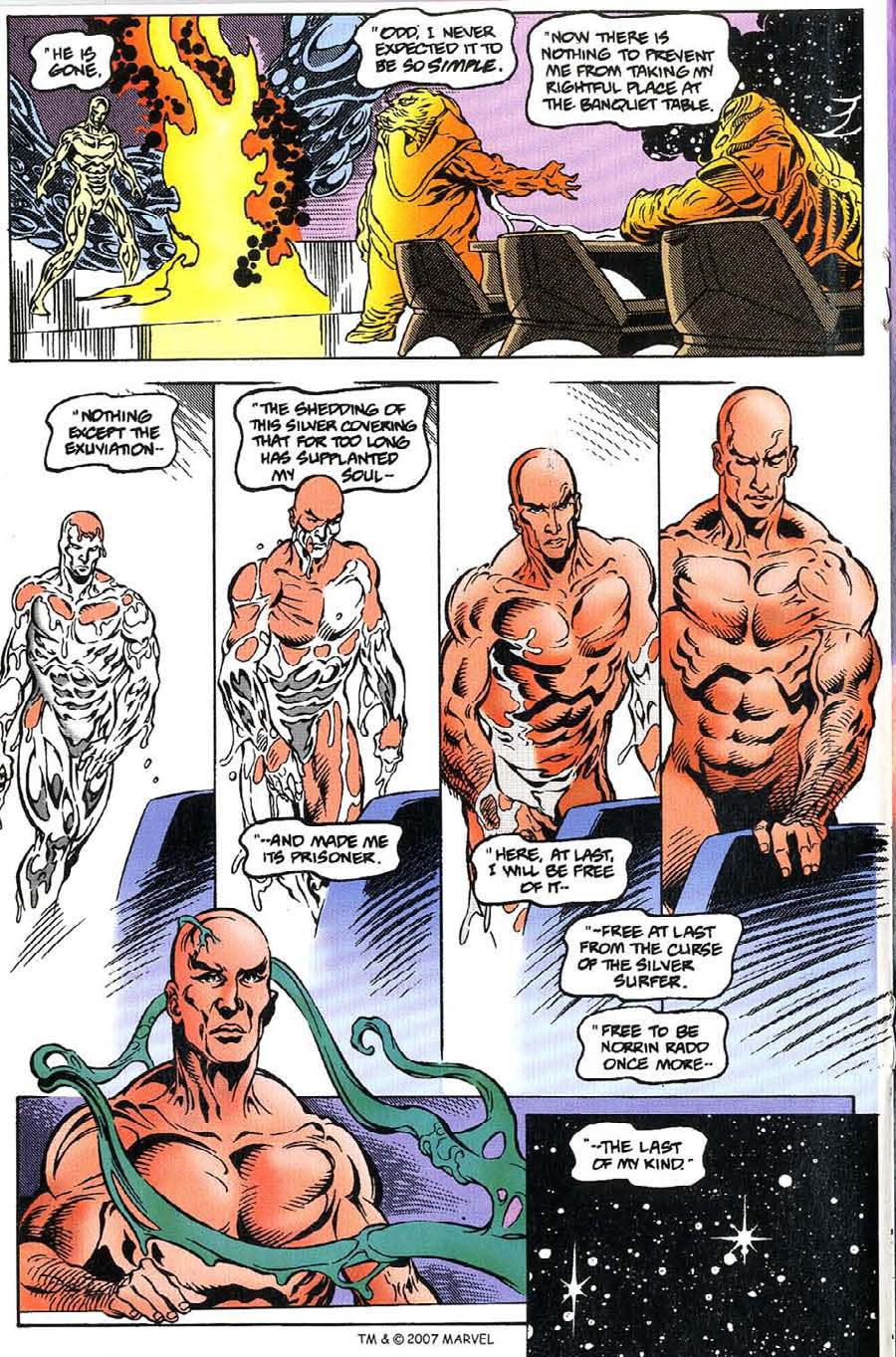 Read online Silver Surfer (1987) comic -  Issue #115 - 18