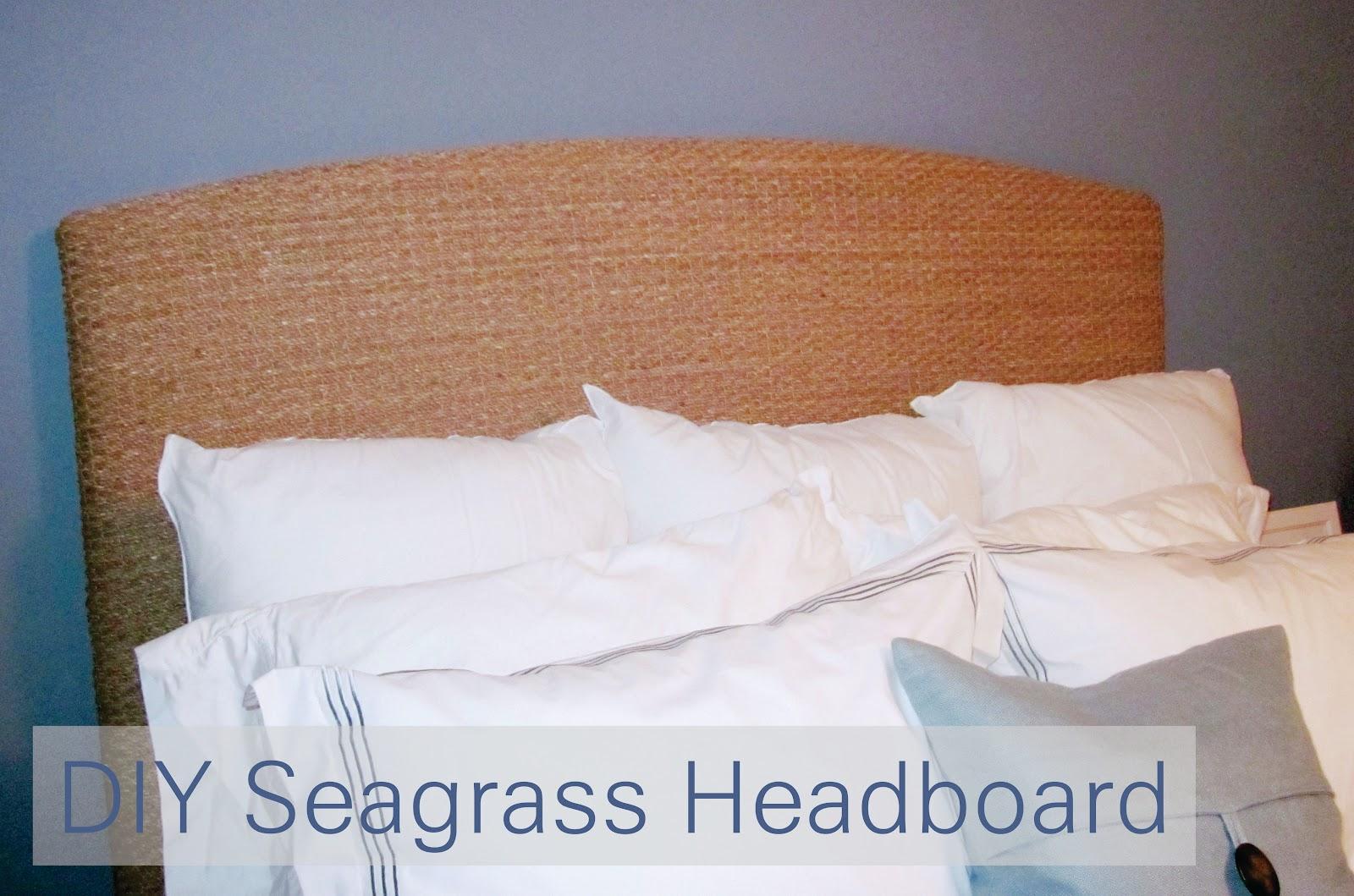 The Murphy's: DIY Seagrass Headboard