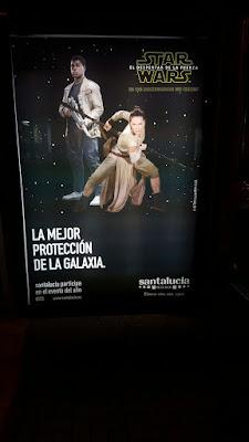Seguros Santa Lucía cartel Star Wars 2