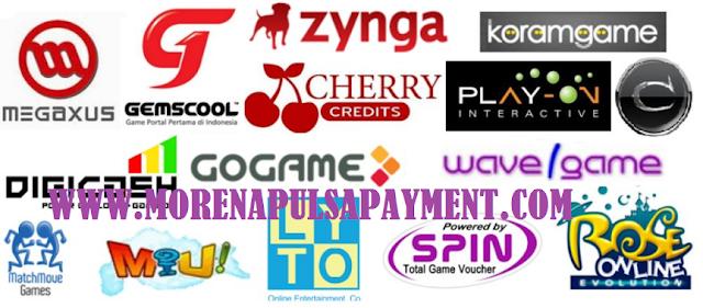 Jual Pulsa dan Voucher Game Online Produk Lengkap