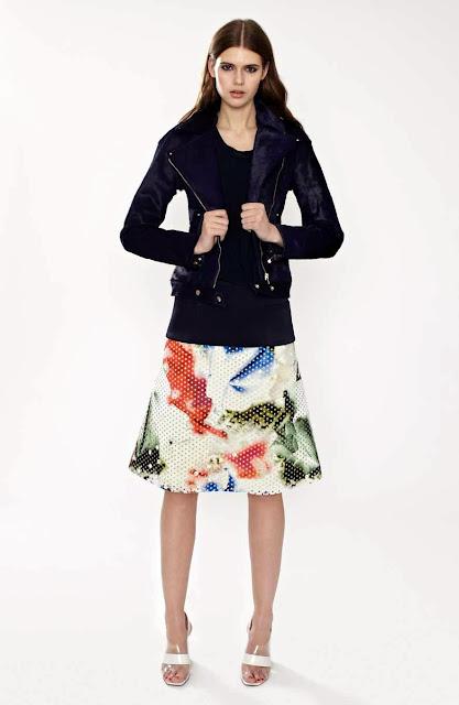 Teatum Jones Created A Cool Update On The Trench Coat: The Style Examiner: Teatum Jones Womenswear Autumn/Winter 2013