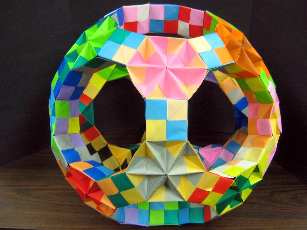 Modular Origami: The Ancient Art of Kusudama Evolved ... - photo#49