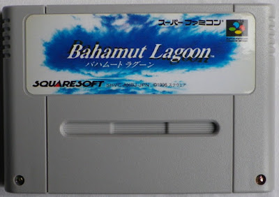 Bahamut Lagoon - Cartucho delante