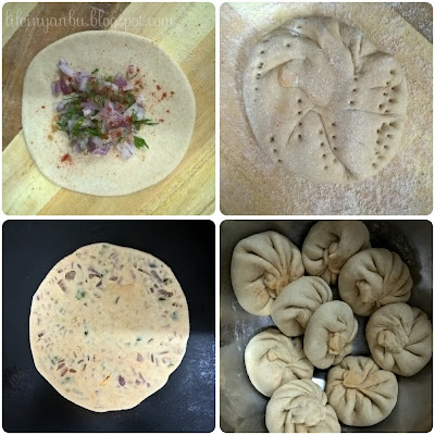 Onion Stuffed Paratha