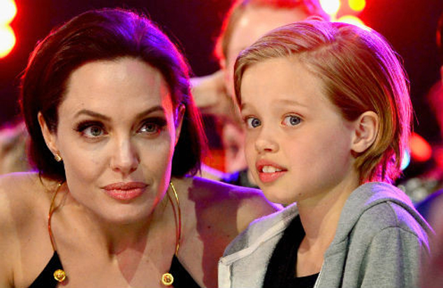 The daughter of Angelina Jolie and Brad pitt wants to change their sex