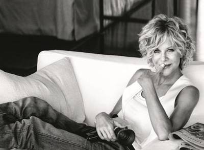 image result for photo meg ryan tank top holding camera