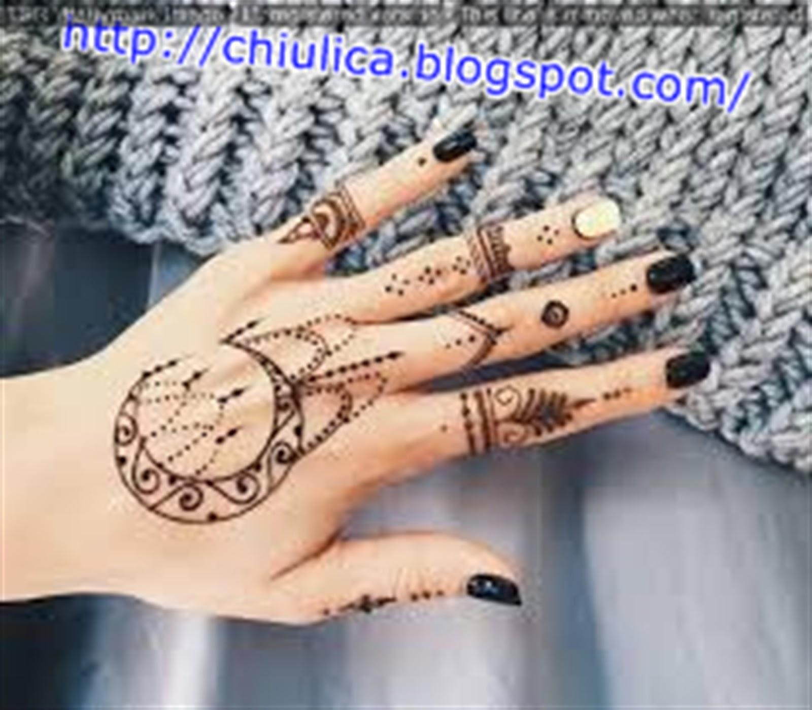 Gambarnya Henna Flower Designs Meanings Paling Dicari | Teknik ...