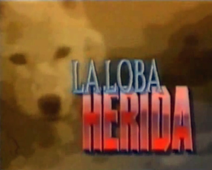 cd27a63aa2 La loba herida  Ya desde la cabecera de la serie sabíamos que era una  coproducción hispano-venezolana. La canción elegida era