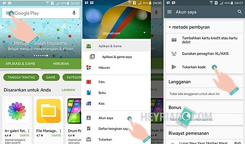 Cara Membeli Aplikasi di Play Store