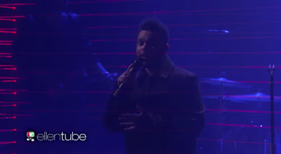 The Weeknd Performs 'Starboy' @ Ellen