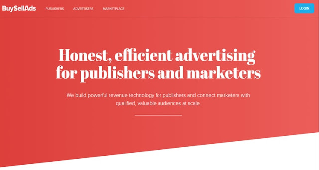 Buy Sell Ads ad network