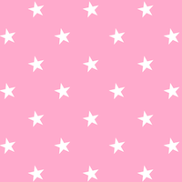 free pink white star paper