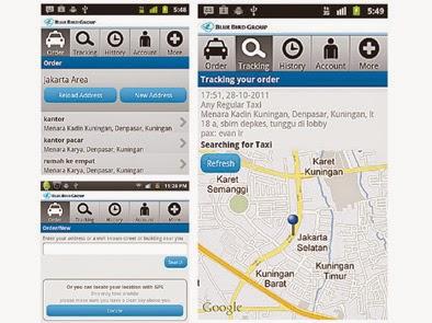 Cara Mudah Pesan Taxi Online di Android Selain Grab,GoCar dan UBER