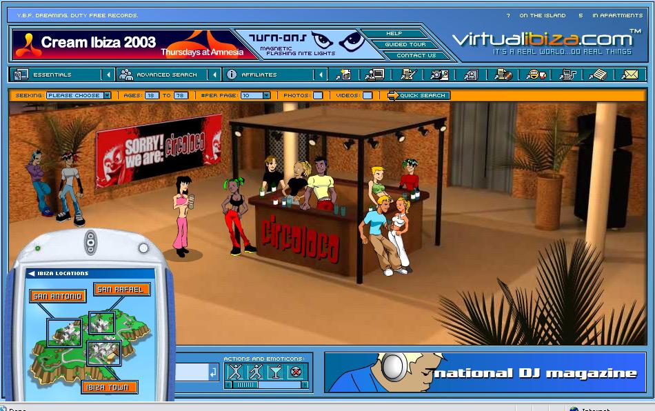 Los Mejores Mundos Virtuales 2012