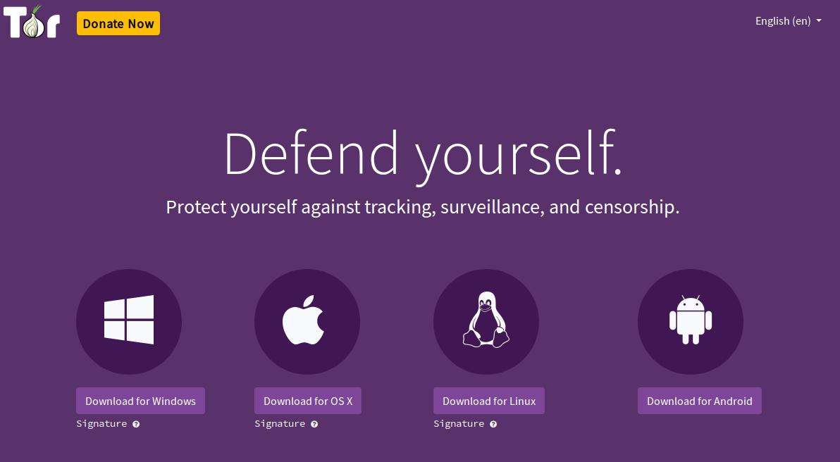 Halaman Tor Download