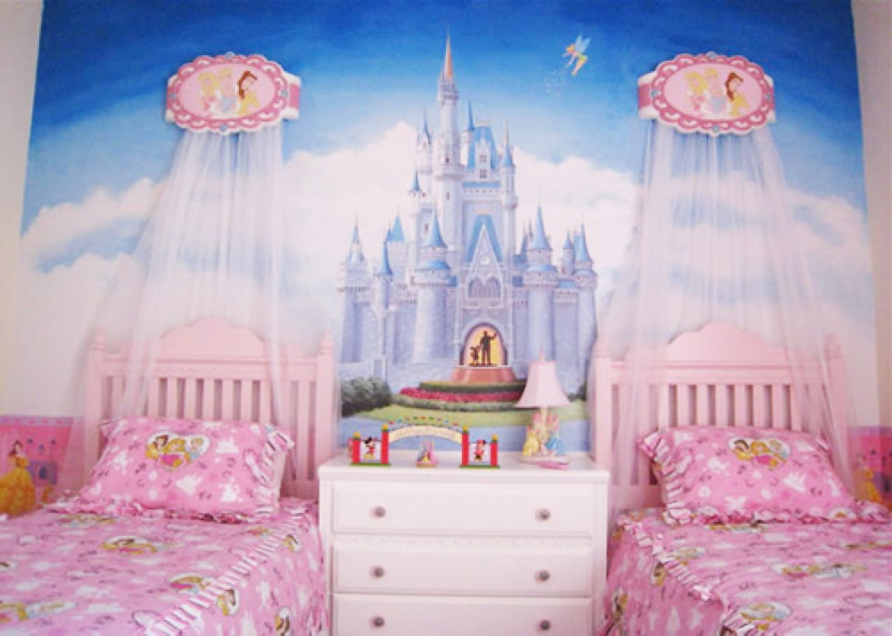 50 best princess theme bedroom design for girls bahay ofw - Room kids decoration ...